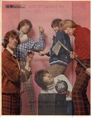 DDBM&T size approx 10X13 inch pinup poster size press cutting/clipping 1966