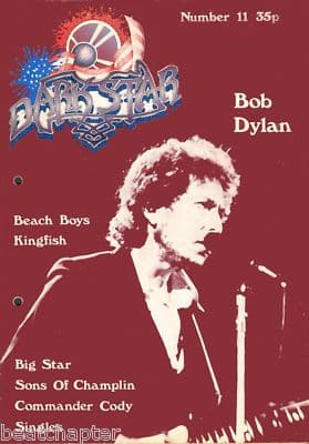 Dark Star Magazine No 11 October 1977 Bob Dylan Big Star Beach Boys Kingfish Commander Cody