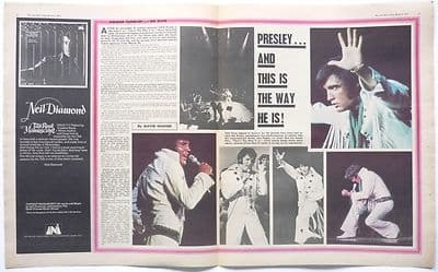 Elvis Presley The way he is Vintage Music Press Article/cutting/clipping 1971