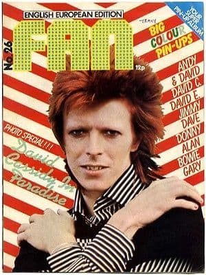 Fan Magazine Issue No 26 Slade David Bowie Cassidy Essex Gary Glitter