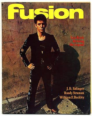 Fusion Magazine No 78 Lou Reed Phil Spector James Brown J.D. Salinger September 1972