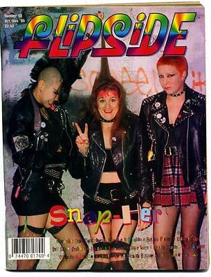 Flipside Magazine No 98 October/November 1995 Von LMO Helicon Hot Damn UK Subs The Queers