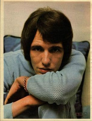 GARY LEEDS/WALKER approx 10X13 inch pinup poster size press cutting/clipping 1966 Original
