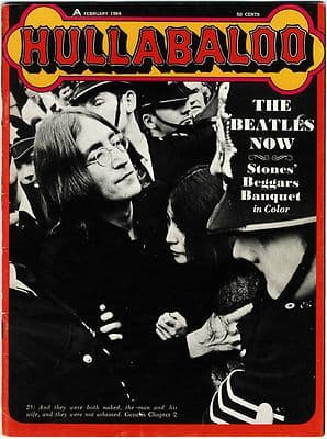 Hullabaloo Magazine February 1969 Beatles Who Rolling Stones Jimi Hendrix Steppenwolf