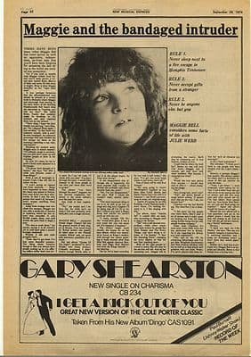 MAGGIE BELL Interview Vintage Music Press Article/cutting/clipping 1974