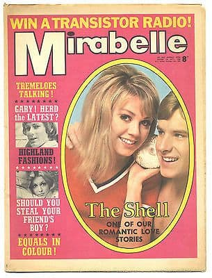 Mirabelle Magazine/Comic 7 September 1968 Equals Tremeloes The Herd Gary Taylor Jimi Hendrix