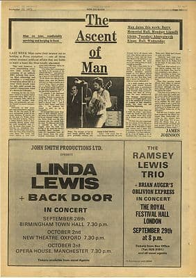 Man MICKY JONES Vintage Music Press Article/cutting/clipping 1973