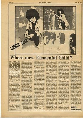 Marc Bolan T REX Lookin back.. Vintage Music Press Article/cutting/clipping 1973