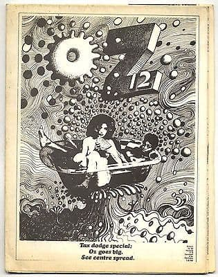OZ Magazine No 12 (May 1968) Fold-out poster/newspaper issue with Martin Sharp cover Barney Bubbles
