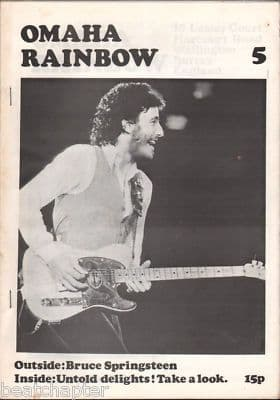 Omaha Rainbow Magazine No 5 Bruce Springsteen The Doors Love Mike Nesmith Gene Parsons Barry McGuire