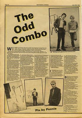 PIL Public Image 3 page Interview Music Press article/cutting/clipping 1979