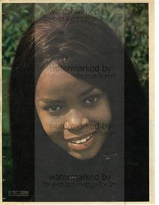PP ARNOLD size approx 10X13 inch pinup poster size press cutting/clipping 1966