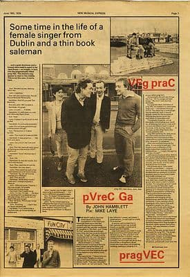 PRAG VEC 2 page Interview Music Press article/cutting/clipping 1979