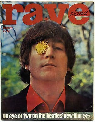 Rave Magazine August 1965 Mick Jagger Who Sandie Shaw Byrds Cliff Richard Elvis Presley Beatles
