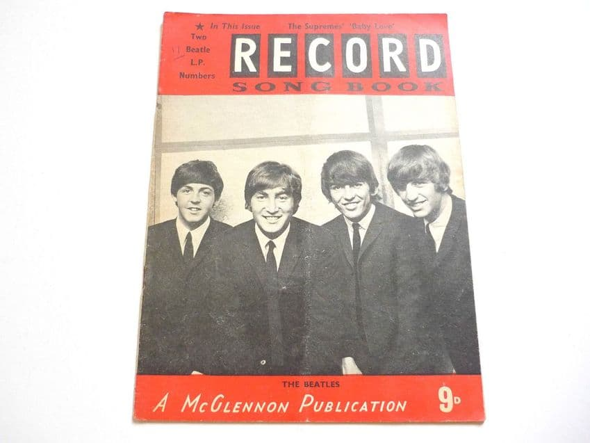 Record Song Book Magazine 1-9-1964 No 11 ? Beatles on cover