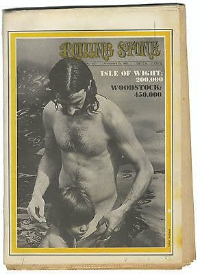 Rolling Stone Magazine No 42, 20 September 1969 Isle of Wight Woodstock Frank Zappa/Mothers Dylan