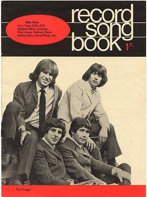The Troggs Record Song Book WORDS Magazine December 1966