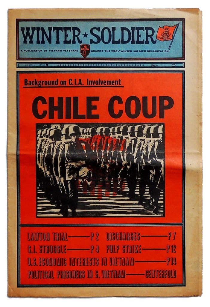 WINTER SOLDIER Vol 3 No 9 November 1973 Chile Coup