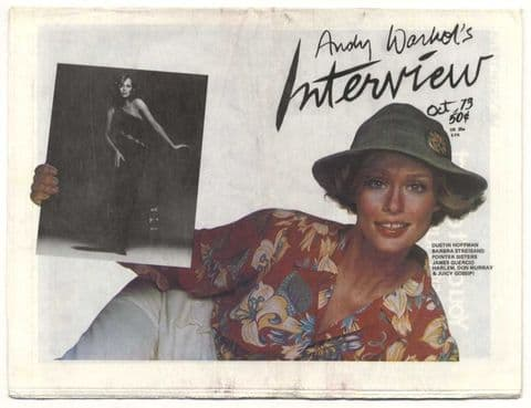 Andy Warhol's Interview No 35 October 1973 Patti Smith Lauren Hutton/Candy Darling Jobriath Don