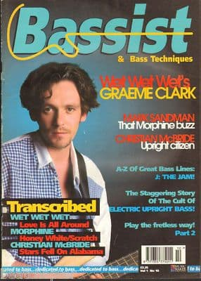 Bassist Magazine Vol 1 No 10 Aug 1995 Graeme Clark Christian McBride