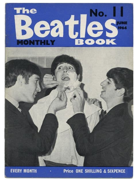 Beatles Monthly Book Magazine Issue No 11 June 1964 in Very good+ condition