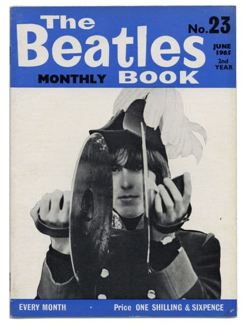 Beatles Monthly Book Magazine Issue No 23 June 1965 in Excellent condition
