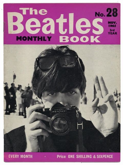 Beatles Monthly Book Magazine Issue No 28 November 1965 in Excellent condition
