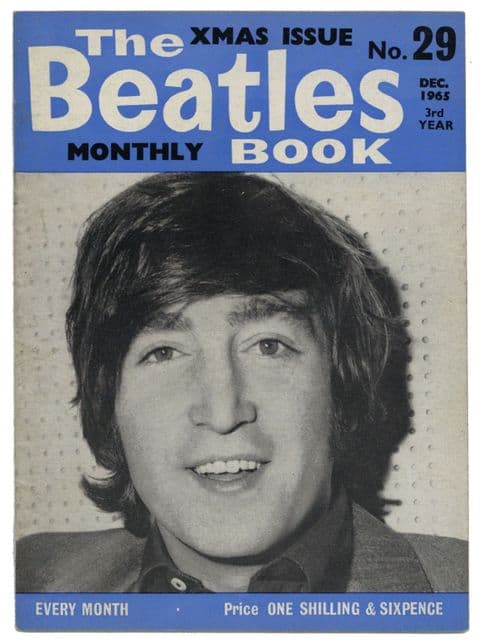 Beatles Monthly Book Magazine Issue No 29 December 1965 in Very Good+ condition