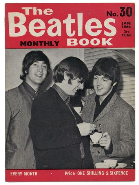 Beatles Monthly Book Magazine Issue No 30 January 1966 in Excellent+ condition