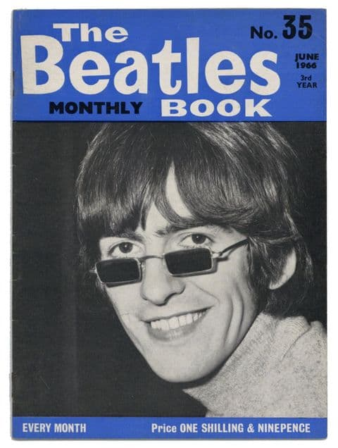 Beatles Monthly Book Magazine Issue No 35 June 1966 in Very Good+ condition
