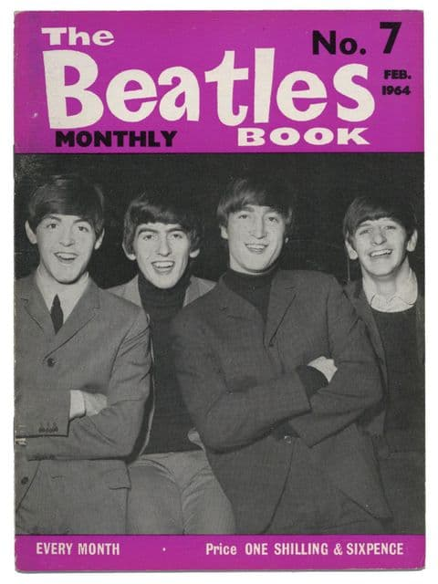 Beatles Monthly Book Magazine Issue No 7 February 1964 in Excellent condition