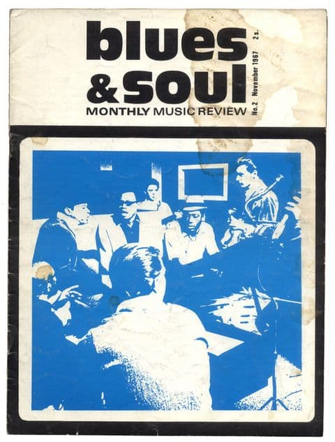 BLUES & SOUL Magazine Very Rare Second Edition 2nd Issue No 2 November 1967 Sam & Dave Betty Harris