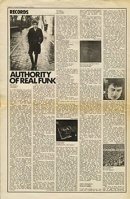 Bob Dylan Grateful Dead KEVIN AYERS music press article/cutting/clipping 1970