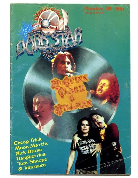 Dark Star Magazine No 20 May 1979 Moon Martin Nick Drake Cheap Trick Tom Sharpe Raspberries