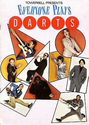 DARTS Everyone Plays Darts Early Concert Programme 1978