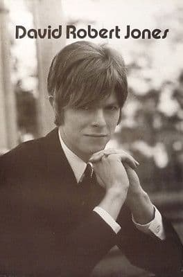 David Bowie circa 1965 David Robert Jones Large Size approx 63½x42½cm Poster