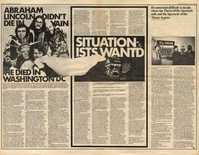 FIRESIGN THEATRE press article/cutting/clipping 1971