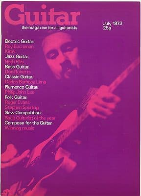 Guitar Magazine Vol 1 No 12 July 1973 Roy Buchanan Herb Ellis Carlos Barbosa Lima Don Roberts
