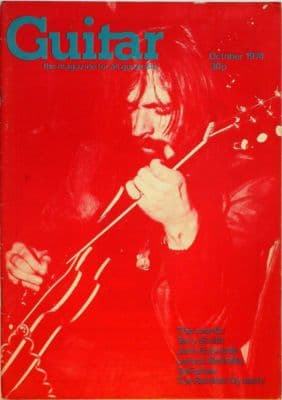Guitar Magazine Vol 3 No 3 October 1974 John Entwistle Terry Smith Lennox Berkeley Tal Farlow