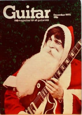 Guitar Magazine Vol 4 No 5 December 1975 Stefan Grossman Robert Fripp Ray Mitchell Les Paul