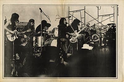 Jefferson Airplane Interview music press article/cutting/clipping 1970