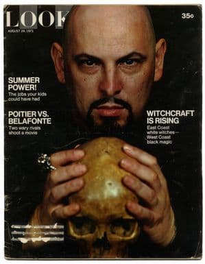 LOOK Magazine August 24 1971 Anton LaVey/Witchcraft is rising. Black magic and white witches