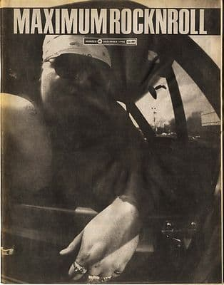 Maximum Rocknroll Magazine No 91 Jawbox The Gainesville Girls Poison Idea December 1990