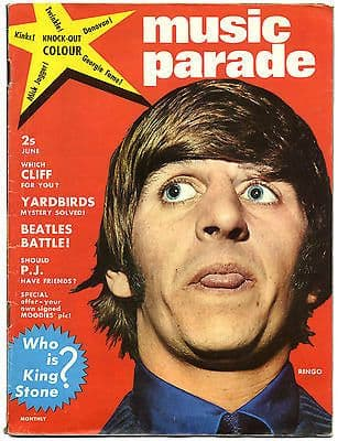 Music Parade Magazine No 2 June 1965 Rolling Stones Beatles Kinks Yardbirds