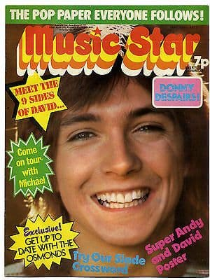 Music Star Magazine 19 May 1973 Rory Gallagher Jackson 5 David Bowie Cassidy Osmonds David Essex