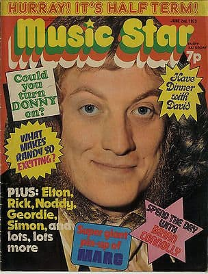 Music Star Magazine 2 June 1973 Sweet Marc Bolan Andy Bown Jackson 5 Osmonds Slade