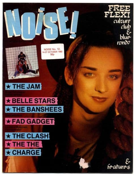 Noise  Magazine No 12 October 1982 The Jam The Clash Damned Siouxsie Vice Squad Bauhaus