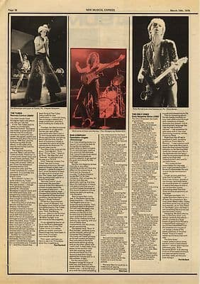 ONLY ONES Bad Company THE TUBES LP Reviews Press article/cutting/clipping 1979