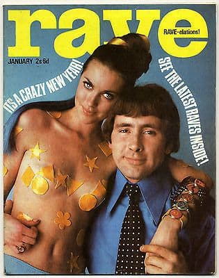 Rave Magazine January 1967 John Lennon Paul Jones Stevie Winwood Olivier Despax