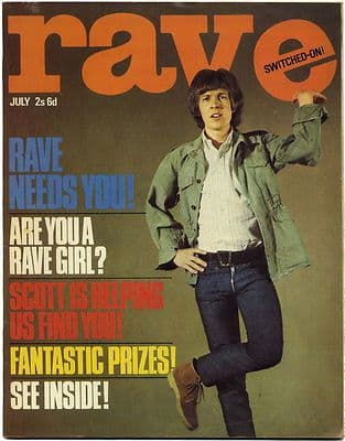 Rave Magazine July 1966 Rolling Stones Beatles Merseys Small Faces Scott Walker